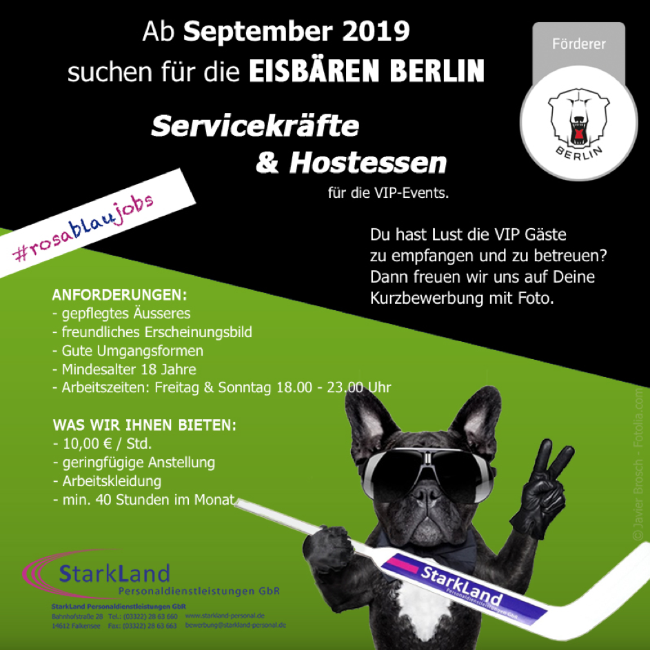 Sept 2019 – Start der neuen Saison der Eisbären Berlin